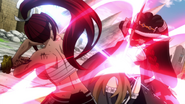 Irene and Erza clash