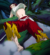 Erza is almost defeated