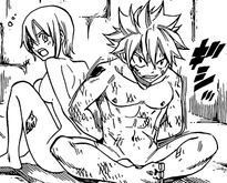 Natsu y Lisanna encarcelados
