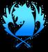 Blue pegasus simbolo