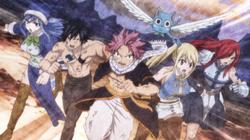Equipo Natsu hacia Fairy Tail