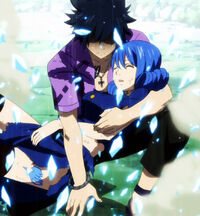 Gray saving Juvia