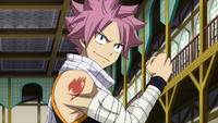 Natsu's secret weapon is a secret