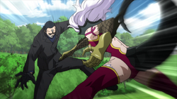 Mirajane da el golpe final a Jacob