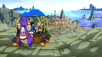 Haru y sus Amigos Continuan Viajando