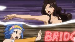 Levy y Cana lanzando su último ataque