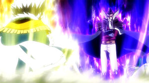 Makarov and Hades' Magic power