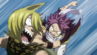 Natsu is back to fight Jackal