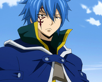 Jellal senses Erza's battle