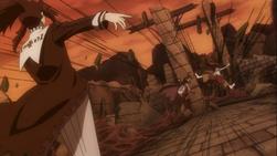 Mard ataca a Erza y a Minerva