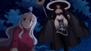 Mirajane unaware of Irene's presence