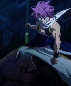 Natsu vuelve desafiando a Rogue