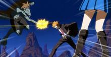 Loke luchando contra el lagarto de Daphne
