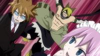 Jackal ambushes Loke and Virgo