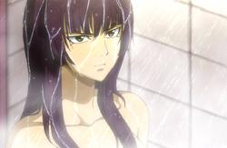 Kagura in shower