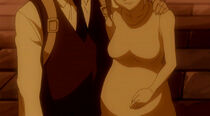 Layla pregnant with Lucy