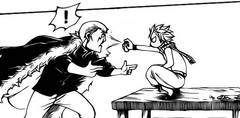Natsu usa el desodorante en Ichi-Laxus