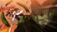 Wolfheim attacks God Serena