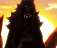 Acnologia arrives to the east front