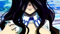 Cana smiles at Mavis' words