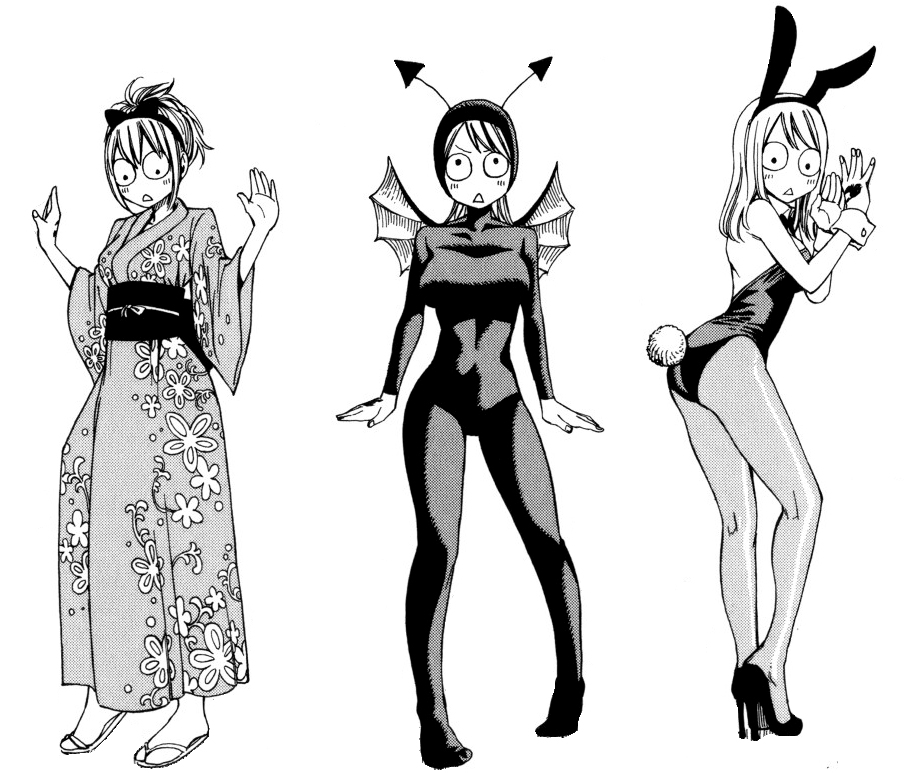 Image lucy clothes from a monster fairy - Fairy tail a colorier ...