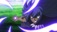 Acnologia targets Erza and Wendy