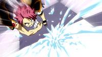 Gray attacks Natsu