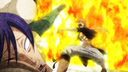 Natsu derrota a Neinhart