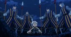 El Rey se da cuenta de que están en el Festival del Rey Dragón