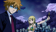 Lucy summons Loke