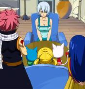 Yukino visits Lucy