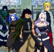 Equipo B de Fairy Tail Anime