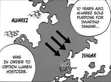 Karte Alvarez plan