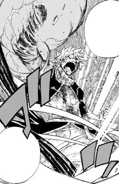 Natsu domina los siete elementos