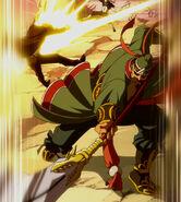 Shin attacks Loke