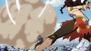 Cana strikes August after his weakness is found