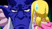 Moka le pide a Lucy que destruiya la Luna antes del show