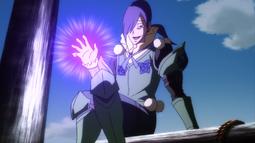 Neinhart se prepara para atacar a Kagura