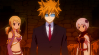 Loke teams up with the girls