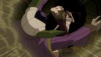 Erza kicks Kyôka