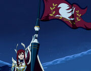Bandera de Fairy Tail