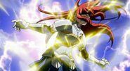 Laxus attack Erza