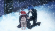 Jellal covers Erza