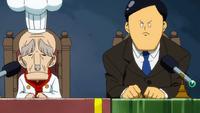 Chapati y Yajima en los juegos