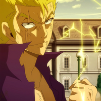 Laxus is fired up