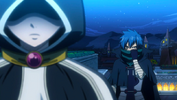 Jellal reveals himself to Lucy