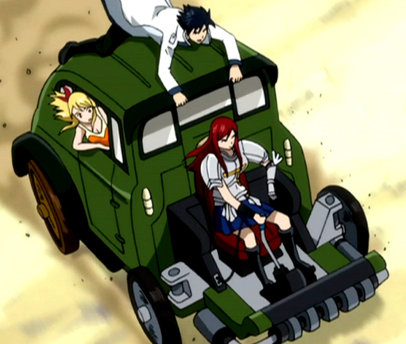Image result for fairytail driving
