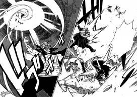 Gildarts y Freed derrotan a sus enemigos