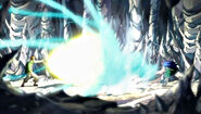 Wendy and Loke's spells clash