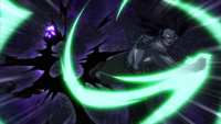 Bloodman is destroyed